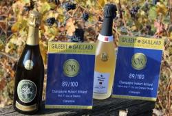 Les plus belles récompenses pour vos Champagnes